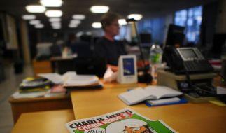 Immer wieder Öl ins Feuer gießen: Jetzt hat auch ein französisches Satire-Magazin neue Karrikaturen veröffentlicht. (Foto)