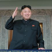 Immer schön freundlich bleiben: Kim Jong Un stichelt häufig gegen die USA. (Foto)