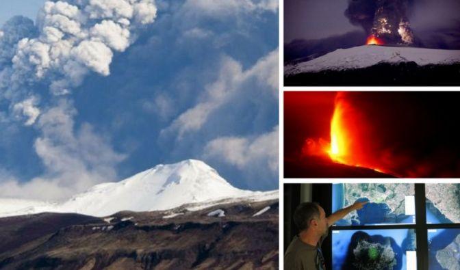 Immer wieder halten uns Vulkanausbrüche in Atem.