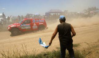 Impressionen von der Rallye Dakar 2015. (Foto)