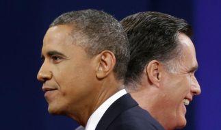 In der Außenpolitik konnte Mitt Romney Barack Obama nicht viel entgegensetzen. (Foto)