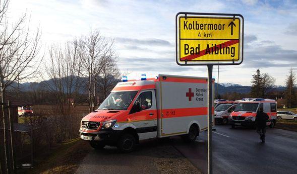 In Bad Aibling ereignete sich am Dienstagmorgen ein schweres Zugunglück. (Foto)