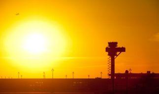 In seiner Baugeschichte hat die Sonne nur selten für das Großprojekt BER geschienen. (Foto)