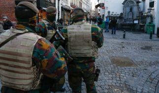 In Brüssel herrscht weiter Terrorwarnstufe 4. (Foto)