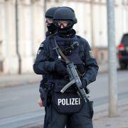 In Chemnitz wurde erneut ein Anti-Terror-Einsatz durchgeführt. (Foto)