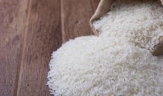 In China ist ein Sack Reis umgefallen. (Foto)