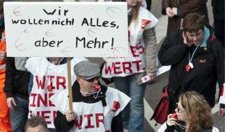 In der vergangenen Woche wurde in Sachsen-Anhalt gestreikt. (Foto)