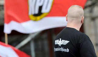 In Deutschland gibt es etwa 400 bewaffnete Rechtsextreme. (Foto)