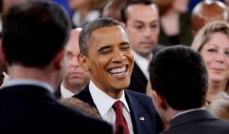 In Deutschland würde US-Präsident Barack Obama einen sicheren Wahlsieg einfahren. (Foto)