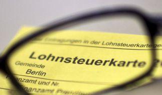 In diesem Jahr werden keine Steuerkarten verschickt (Foto)