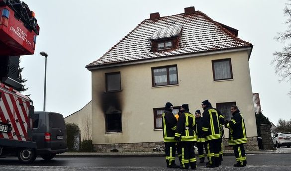 Ehepaar stirbt bei Wohnungsbrand in Thüringen (Foto)