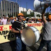 In Griechenland dauert der Generalstreik 48 Stunden. Und auch in Portugal, Spanien, Belgien und Italien regiert die Streikwelle.