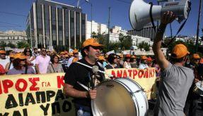 In Griechenland dauert der Generalstreik 48 Stunden. Und auch in Portugal, Spanien, Belgien und Italien regiert die Streikwelle. (Foto)