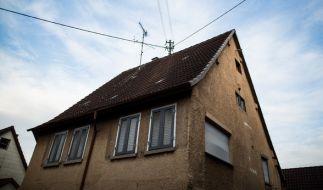 In diesem Haus in Baden-Württemberg soll ein Mann seine beiden Kinder ermordet haben. (Foto)