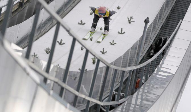 In Innsbruck findet traditionell das dritte Springen der Vierschanzentournee statt. (Foto)