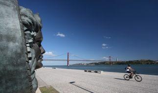 In Lissabon kann man nicht nur am Fluß Tejo herrlich flanieren. (Foto)