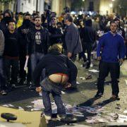 In Madrid gehen die Proteste gegen die Sparpolitik der Regierung weiter.