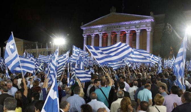 In Madrid und Athen werden die Probleme größer (Foto)