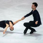 In Moskau findet an diesem Wochenende der Eiskunstlauf Grand Prix 2017 statt (Archivbild). (Foto)