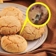 In einer Packung Aldi-Kekse entdeckte ein Mann einen eingebackene Spinne. (Foto)