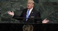 """In einer Rede vor der UN drohte US-Präsident Trump, Nordkorea im Notfall """"total zu zerstören"""". (Foto)"""