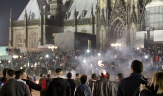 In der Silvesternacht waren am Kölner Hauptbahnhof Frauen sexuell belästigt und augeraubt worden. (Foto)