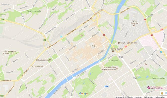 In der finnischen Stadt Turku wurden mehrere Menschen niedergestochen. (Foto)