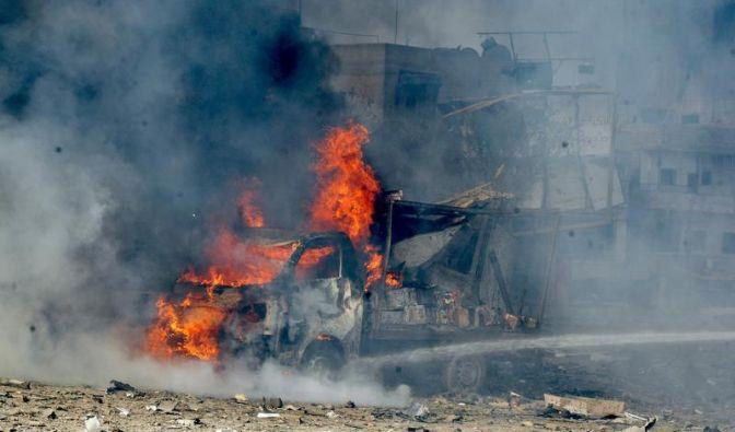 In Syrien ist kein Ende des Bombenterrors in Sicht (Foto)