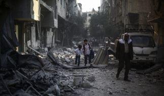 In Syrien tobt seit Jahren ein schlimmer Bürgerkrieg. (Foto)