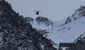 In Tirol wurden mehrere Menschen von einer Lawine verschüttet. (Foto)