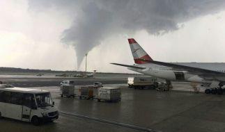 In Wien tobte ein Tornado. (Foto)
