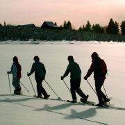 In der Wintersport-Arena Sauerland kommen Schneeschuhwanderer auf ihre Kosten.