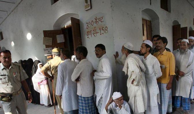 Indien wählt - Tote bei Maoisten-Attacke (Foto)