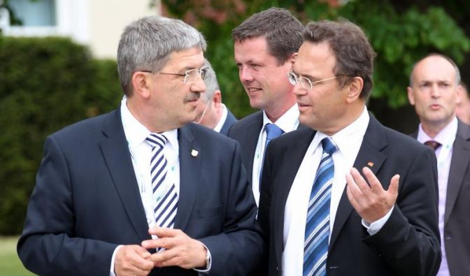 Innenminister beenden Konferenz (Foto)