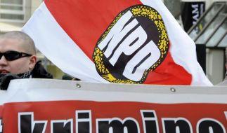 Innenminister beraten über NPD-Verbot (Foto)