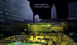 Installation von Philipp Geist bei Frankfurter Luminale (Foto)