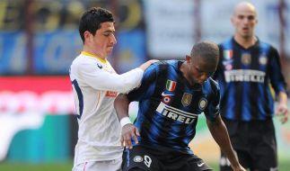 Inter jagt nun Milan - Totti bejubelt 200. Ligator (Foto)