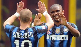 Inter Mailand verdrängt Neapel von Platz zwei (Foto)