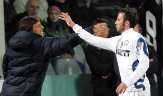 Inter verkürzt Rückstand auf AC Mailand (Foto)