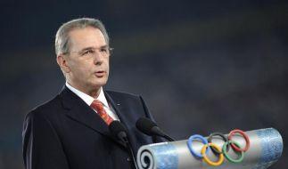 IOC-Boss Rogge wird 70 (Foto)