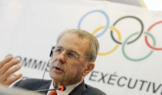 IOC-Präsident Rogge eröffnet Vollversammlung (Foto)