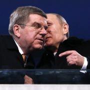 """IOC-Präsident Thomas Bach: Ein """"alter"""", Freund von Kreml-Chef Wladimir Putin. (Foto)"""