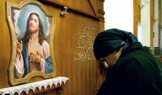 Irakische Christin (Foto)