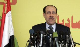 Irakischer Regierungschef droht mit Rücktritt (Foto)