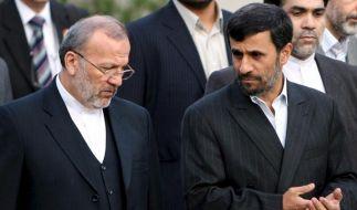 Irans Außenminister Mottaki entlassen (Foto)