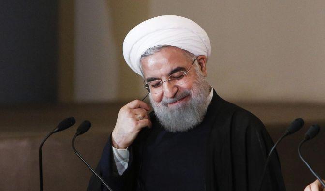 Irans Präsident Rohani will trotz Problemen im Inland wieder am Weltmarkt teilhaben. (Foto)