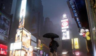 Irene verschont New York (Foto)