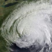 Riesig: Hurrikan «Irene» bedeckt den Großteil der US-Ostküste.
