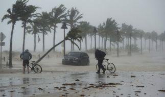 """""""Irma"""" bleibt gefährlich. (Foto)"""