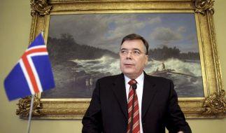 Islands Regierung zerbricht an Finanzkrise (Foto)